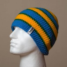 Loose, Sep. stripes (Sky blue/Warm yellow/Green)