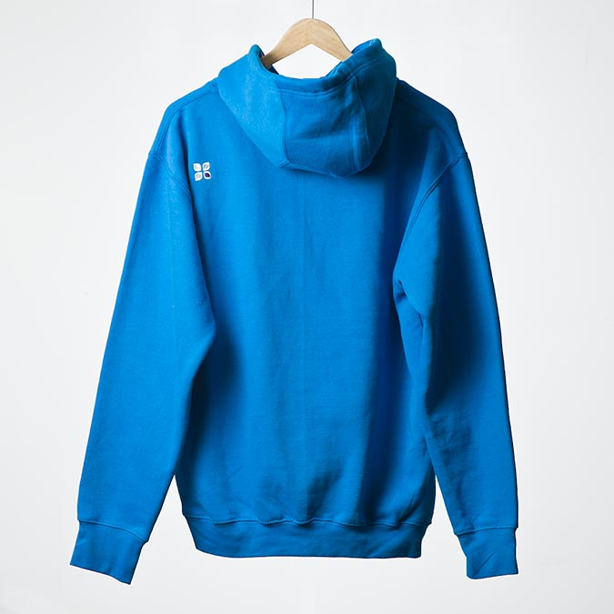 Shattered hoodie (Electric blue), 2