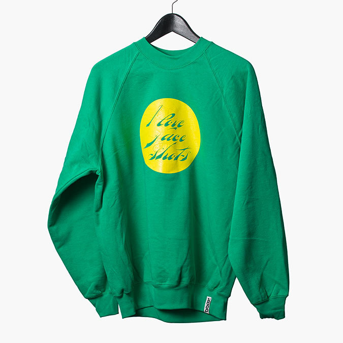 Faceshots sweatshirt (Green), 1