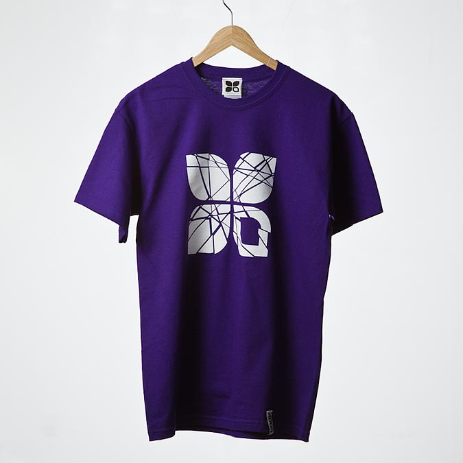 Shattered t-shirt (Purple), 1
