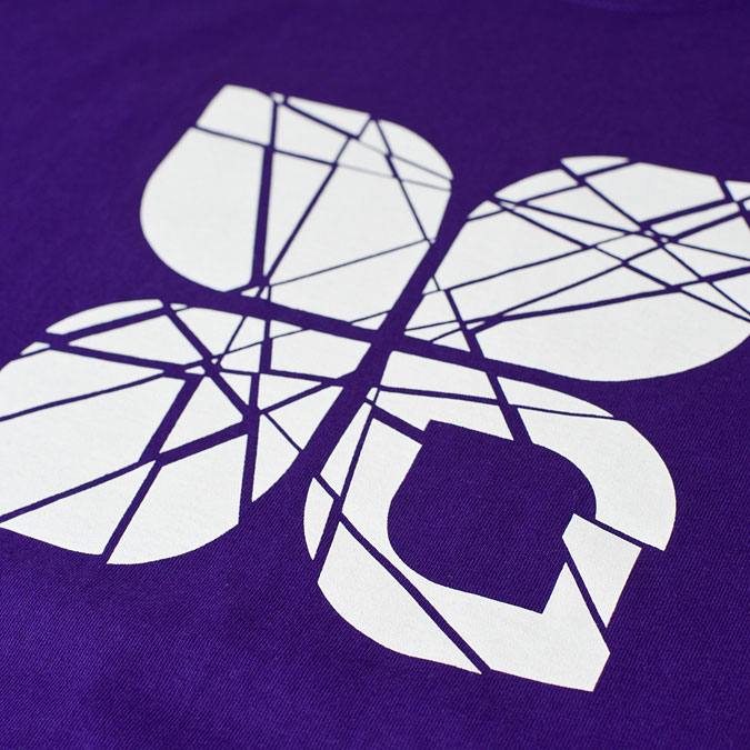 Shattered t-shirt (Purple), 3