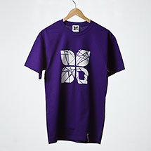 Shattered t-shirt (Purple)