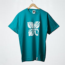 Shattered t-shirt (Teal)