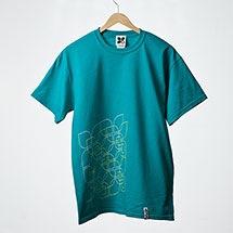 Unix t-shirt (Teal)
