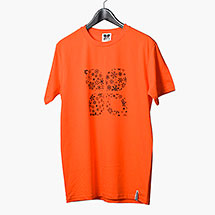 X Snowflakes t-shirt (Orange)