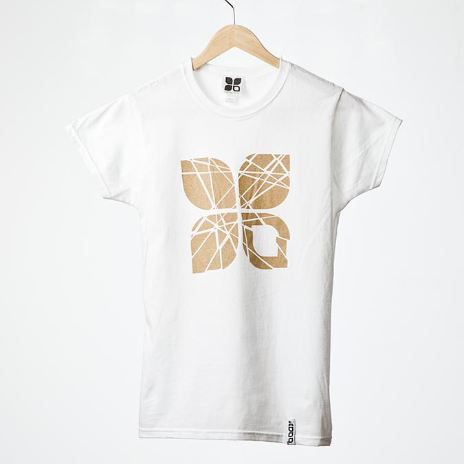Shattered wmns t-shirt (White), 1