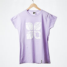 Shattered womens t-shirt (Orchid)