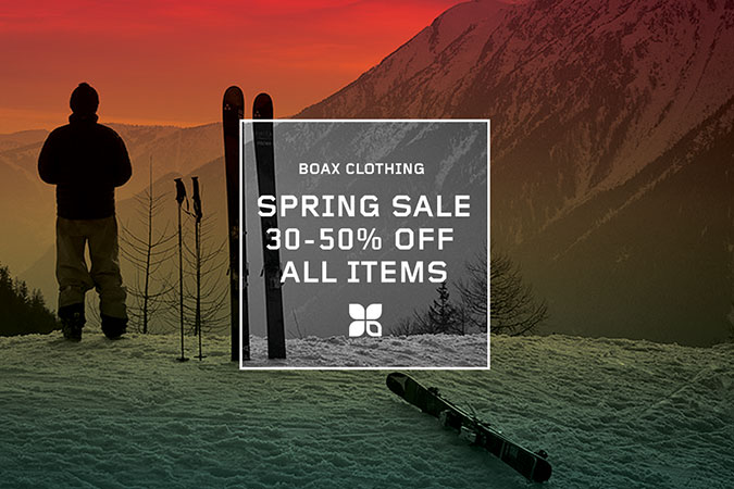 Boax Clothing spring sale: 30-50% off all shop items now